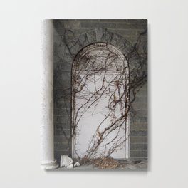 Secret Password Metal Print