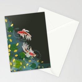 Ginkgo Pond Stationery Cards