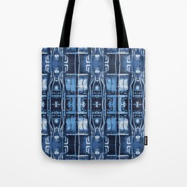 Cyanotype Tokyo Pipes  Tote Bag