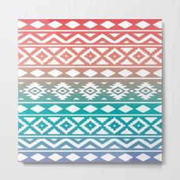 Aztec Pattern No. 10 Metal Print
