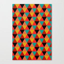 Ternion Series: Wintertide Jubilee Notion Canvas Print