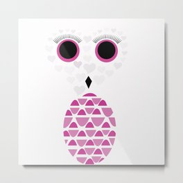 Owls Just Want to Have Fun No.2 Metal Print