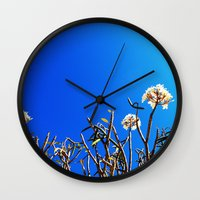 merida Wall Clocks featuring merida tree by Alison Kim