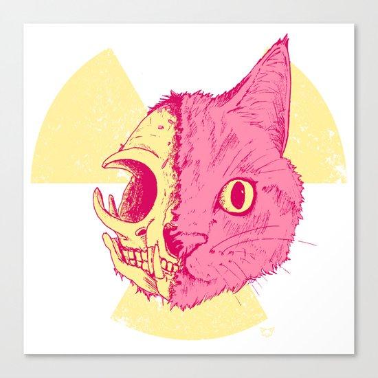 SCHRODINGERS CAT Canvas Print