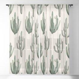 Cactus Sheer Curtain
