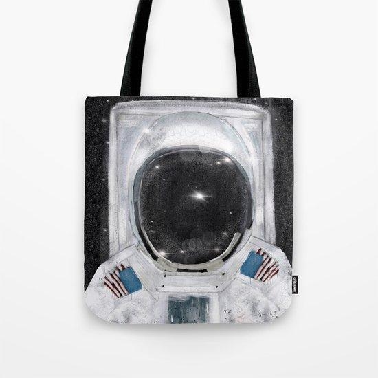 space selfie Tote Bag