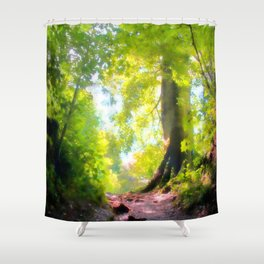 The Glade Ahead Shower Curtain