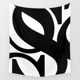 Hidden Letters. Baskerville S Wall Tapestry