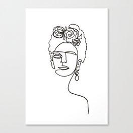 Frida Kahlo Leinwanddruck