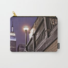 Empire State Subway - New York Photography Carry-All Pouch