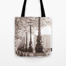 Leafy Promenade Tote Bag