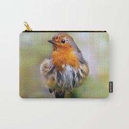 Orange Baby Bird Carry-All Pouch