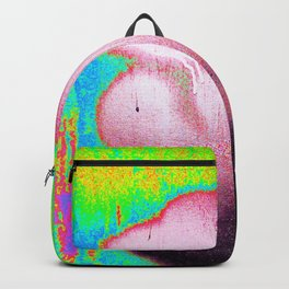 Yellow Neon Abstract Collection Backpack
