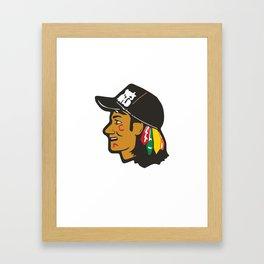 Wayne's Hawks Framed Art Print