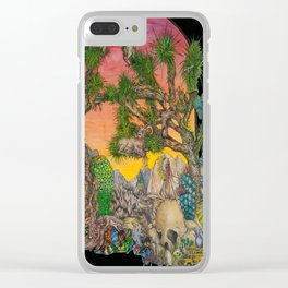 Joshua Tree National Park Clear iPhone Case