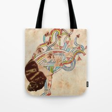 Come Undone Tote Bag