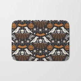 All Hallows' Eve - Black Orange Halloween Bath Mat