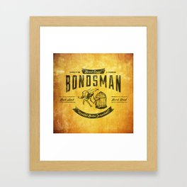 Beast Coast Bondsman (BLACK) Framed Art Print