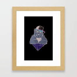 Sozoryoko Original Branding - Fancy Bear Framed Art Print