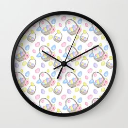 Easter Basket Wall Clock