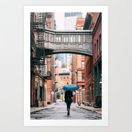 Staple Street Stranger Art Print