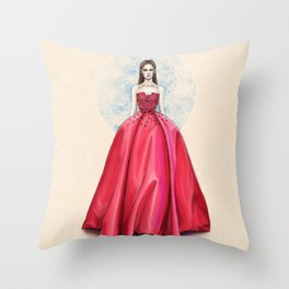 Elie Saab haute couture SS14 Throw Pillow