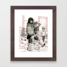 Piper Original Framed Art Print