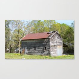 Old barn storage Canvas Print
