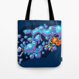 Creating the universe is fun! Tote Bag
