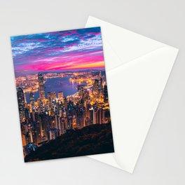 Sunset City (Color) Stationery Cards
