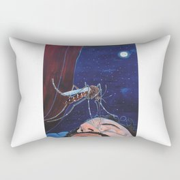 Sting that face Rectangular Pillow