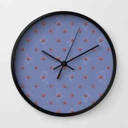 Cacti Flowers Wall Clock