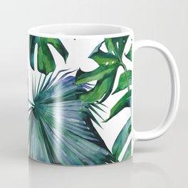 Tropical Palm Leaves Classic II Coffee Mug