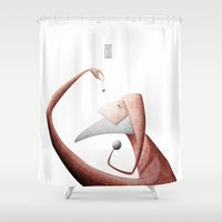 new year Shower Curtains featuring New year by Gianni Ian Puri