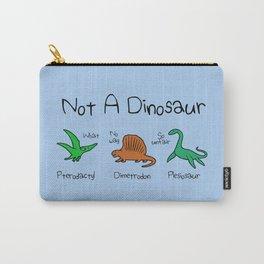 Not A Dinosaur (Pterodactyl, Dimetrodon, Plesiosaur) Carry-All Pouch