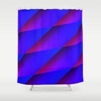 darren criss Shower Curtains featuring Criss Cross by Christy Leigh