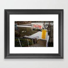 Surface Tension: Anniesland Framed Art Print
