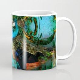 The peacock universe Coffee Mug