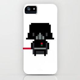Pixel Darth Vader iPhone Case