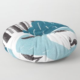 River Floor Pillow