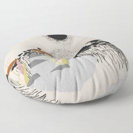 Drippy hills Floor Pillow