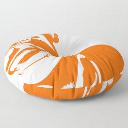Ray Charles – Orange Floor Pillow