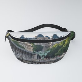 Pont de Bir-Hakeim over the Seine - Paris, France Fanny Pack
