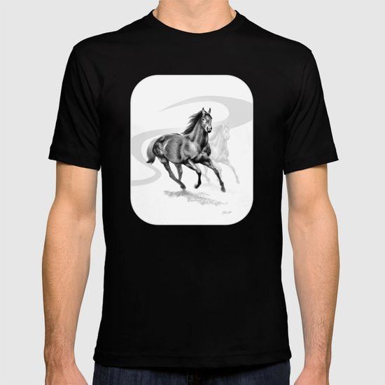 Master Hand (USA) Thoroughbred Stallion T-shirt