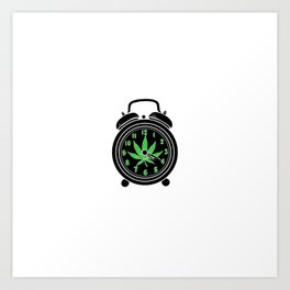 420 Time | Weed Cannabis Marihuana Stoner Gifts Art Print