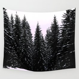 Pine Sunset Wall Tapestry