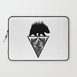 Fern and Bear Laptop Sleeve
