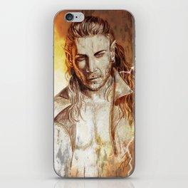 Dark elf iPhone Skin