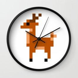 Pixel Animals Wall Clock
