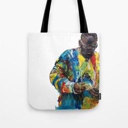 I Feel Blessed / Biggie Portrait Tote Bag